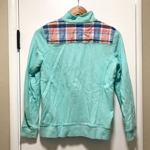 Vineyard Vines Sweaters - Harbor Madras Shep Shirt with Mysterious Pink